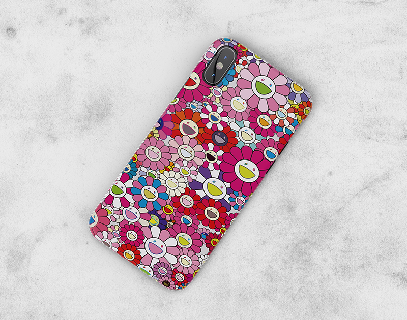 Murakami Takashi- iPhone X iPhone XR iPhone 7 or 7 Plus, 6 or 6s Plus, iPhone 8 Cases - DEKALESK