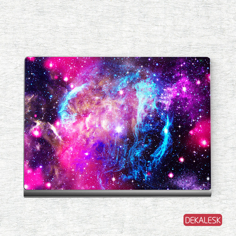 Pink Nebula - Surface Book Skin - DEKALESK