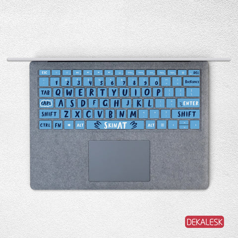 Blue Sky- Surface Laptop/surface Book/Surface Pro Keyboard Keys Skin - DEKALESK
