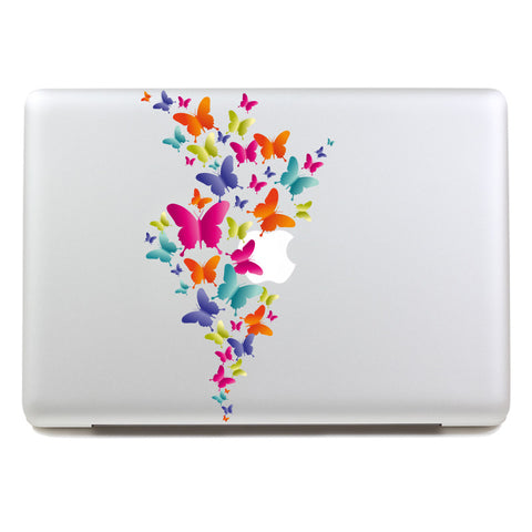 Colorful Butterflies - MacBook Decal - DEKALESK