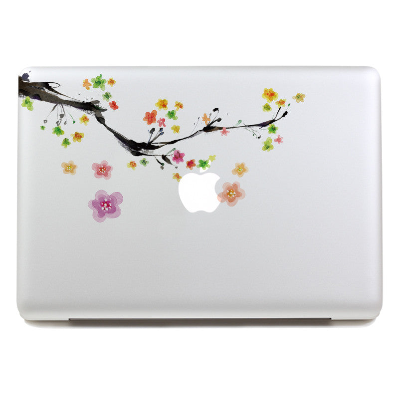 Plum Blossom - MacBook Decal - DEKALESK
