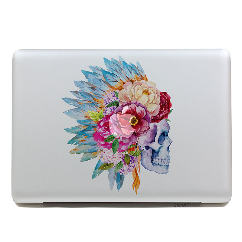 Indian Skull - MacBook Decal - DEKALESK