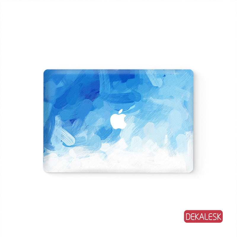 Blue Gouache - MacBook Skin - DEKALESK
