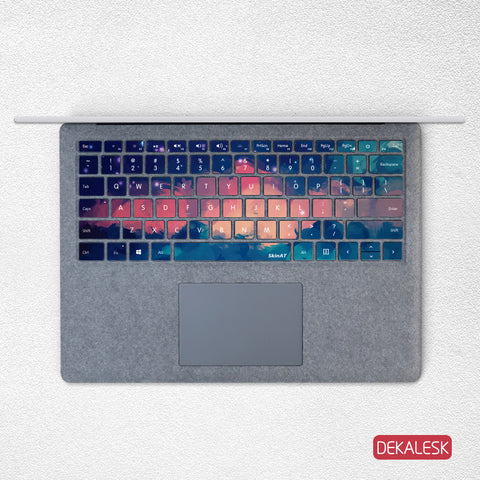 Red Cloud- Surface Laptop/surface Book/Surface Pro Keyboard Keys Skin - DEKALESK