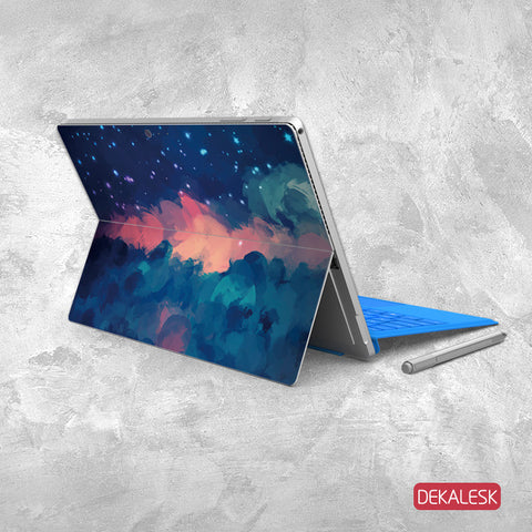Red Cloudy Sky - Surface Pro 3/4 Skin - DEKALESK