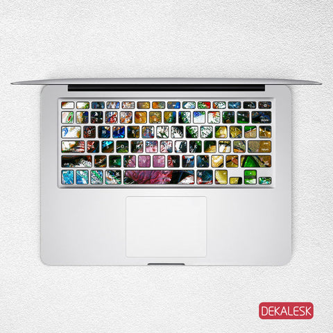 Rocks - MacBook Keyboard Stickers - DEKALESK