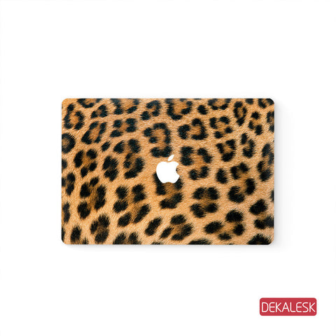 Leopard print - MacBook Pro Keyboard Stickers Top Skin Full Bottom Decal Protector - DEKALESK