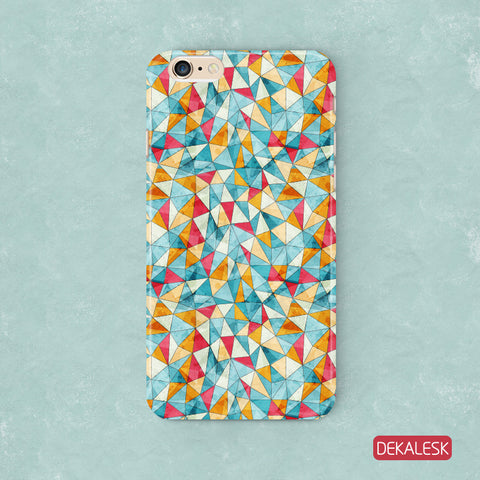 Triangles - iPhone 6/6S & 6/6S Plus Cases - DEKALESK