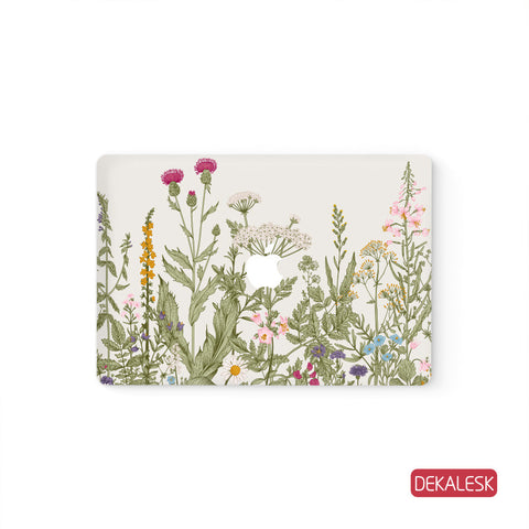 Thistle Garden - MacBook Skin - DEKALESK