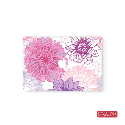 Blooming Flowers - MacBook Skin - DEKALESK
