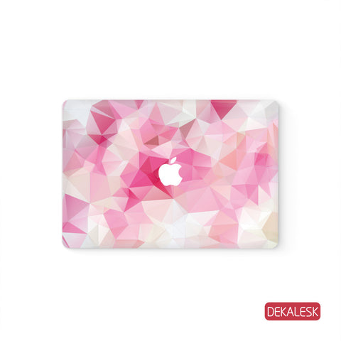 Pink Triangles - MacBook Skin - DEKALESK