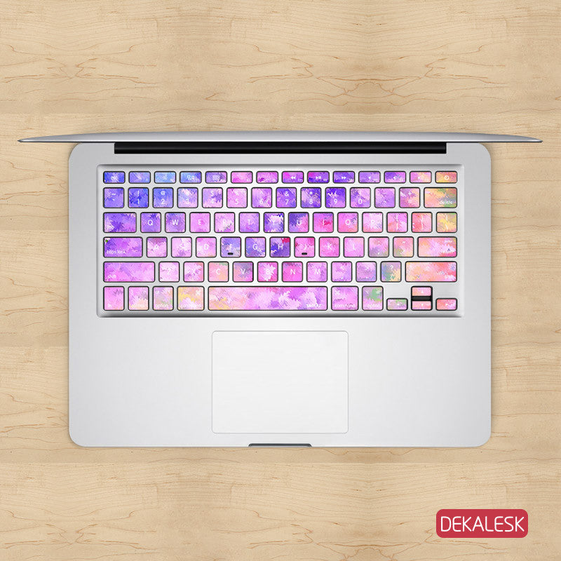 Little Pastels - MacBook Keyboard Stickers - DEKALESK