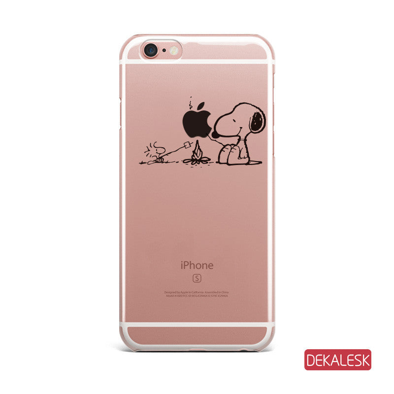 Dinner- iPhone 6/6S Transparent Cases iPhone 6s/ 6s Plus / iPhone 7/ iPhone 7 Plus - DEKALESK