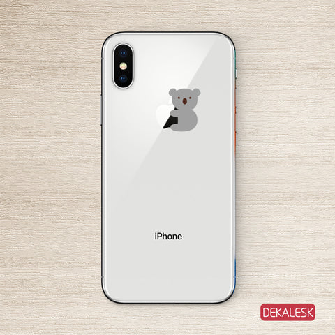 Koala iPhone X Decal Sticker iPhone 6/6S Skin iPhone 7/ iPhone 7 Plus / iPhone 8/ iPhone 8 Plus - DEKALESK