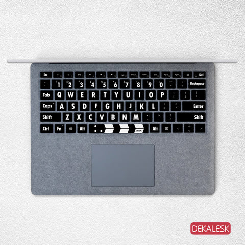 Board Player- Surface Laptop/surface Book/Surface Pro Keyboard Keys Skin - DEKALESK