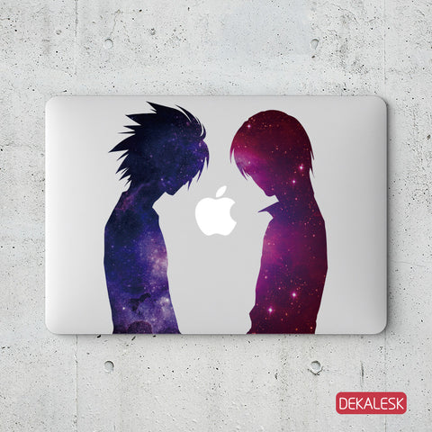 Kaoru and Shinji - MacBook Decal - DEKALESK