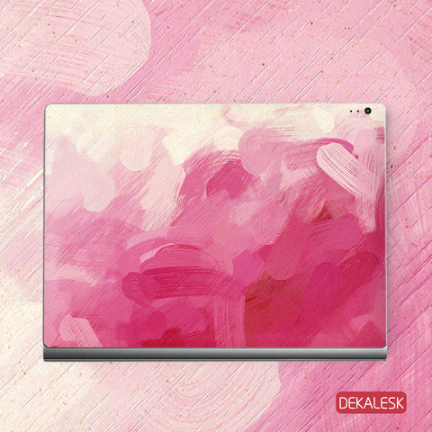 Pink Watercolor - Surface Book Skin - DEKALESK