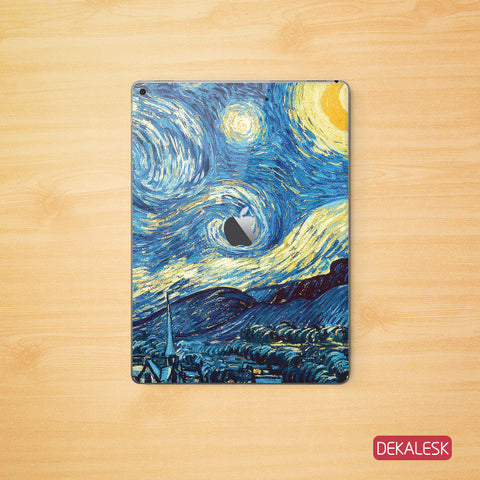 The Starry Night - iPad Pro Skin - DEKALESK