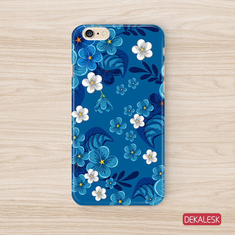 Blue Blossom - iPhone 6/6S Cases - DEKALESK