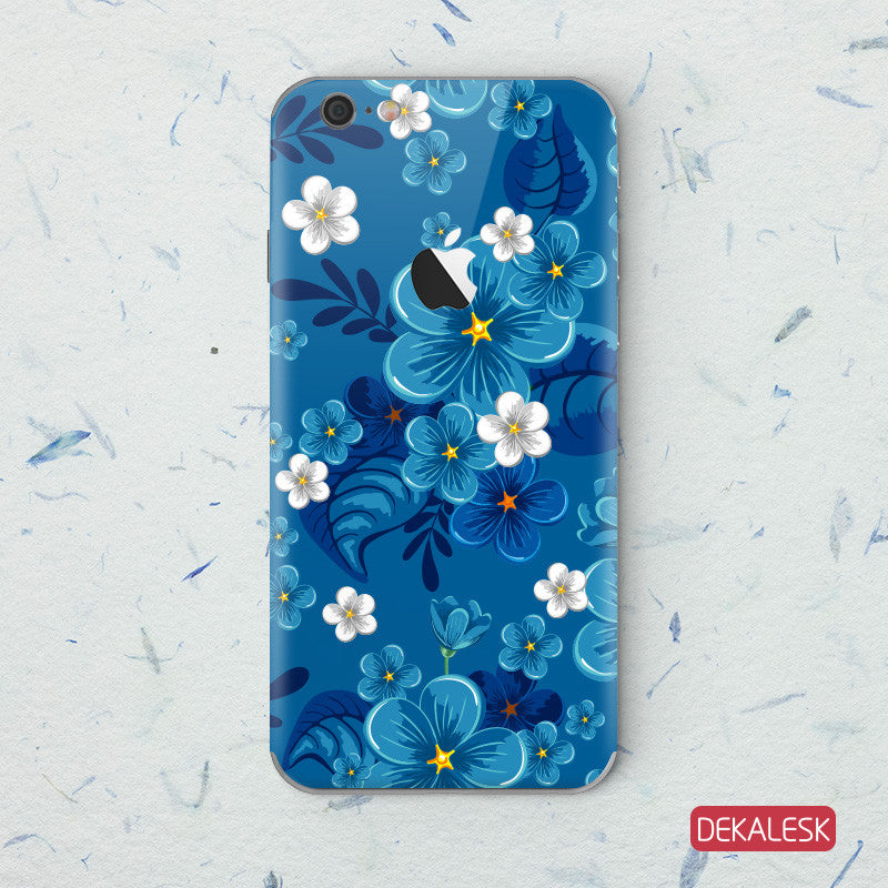 Blue Blossom - iPhone 6/6S Skin - DEKALESK
