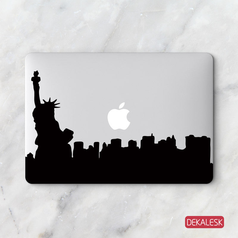 Statue of Liberty NYC - MacBook Decal - DEKALESK