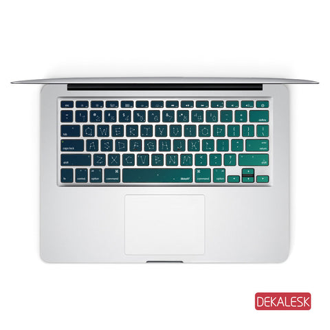 Stars Universal - MacBook Keyboard Stickers - DEKALESK