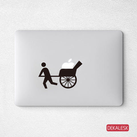 Apple Cart - MacBook Decal - DEKALESK
