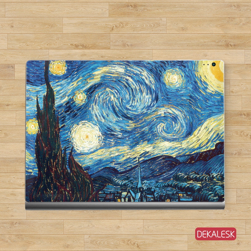 The Starry Night - Surface Book Skin - DEKALESK