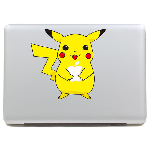 Pikachu Pokemon - MacBook Decal - DEKALESK