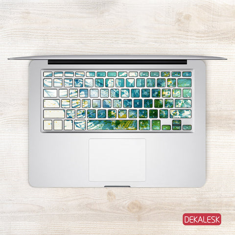Butterfly Wings - MacBook Keyboard Stickers - DEKALESK