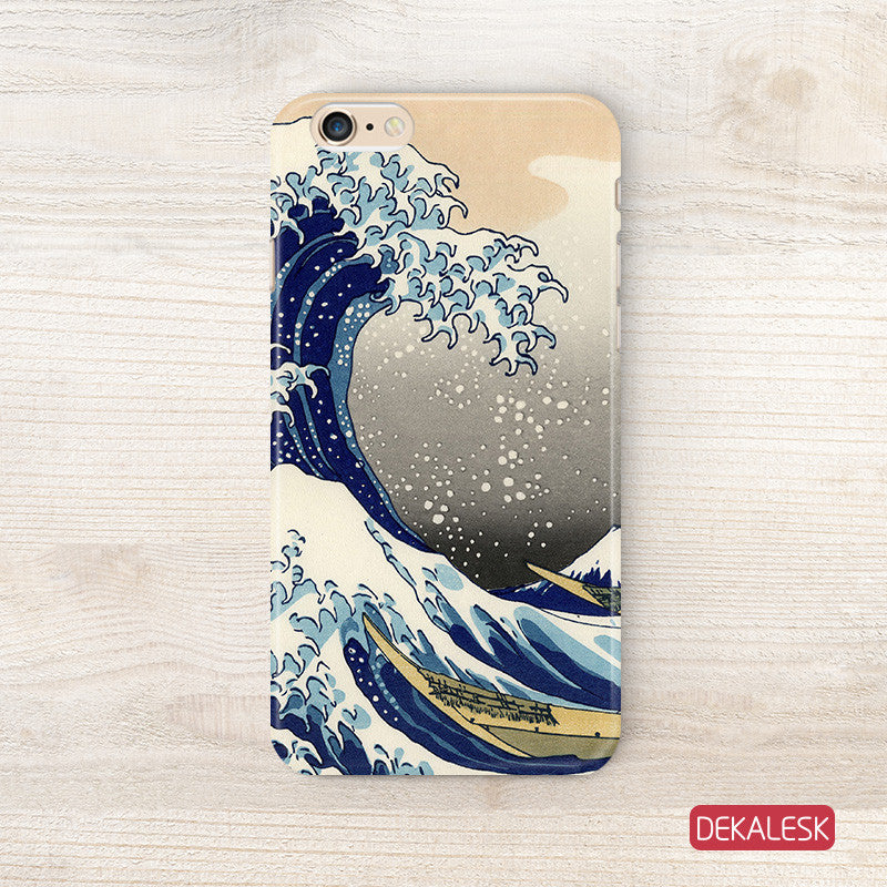 Great Wave off Kanagawa - iPhone 6/6S Cases - DEKALESK