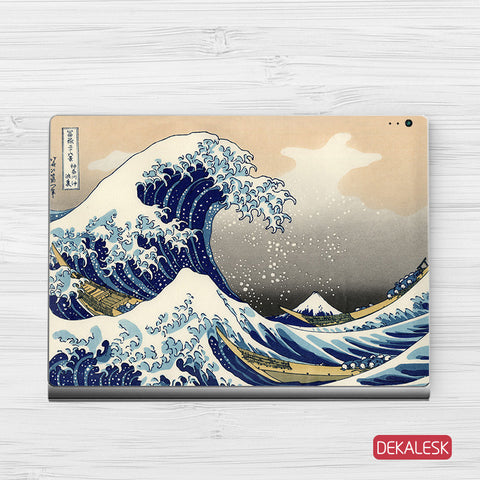 Great Wave off Kanagawa - Surface Book Skin - DEKALESK