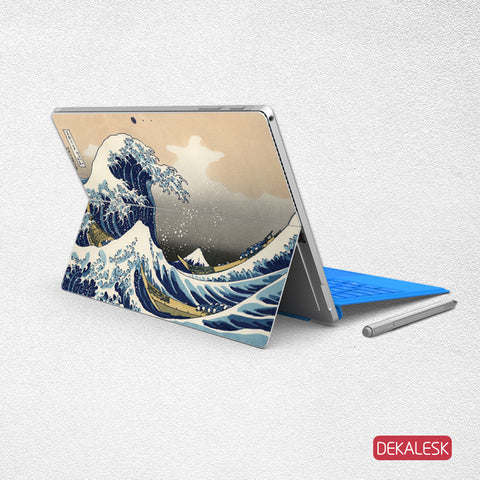 Great Wave off Kanagawa - Surface Pro 3/4 Skin - DEKALESK