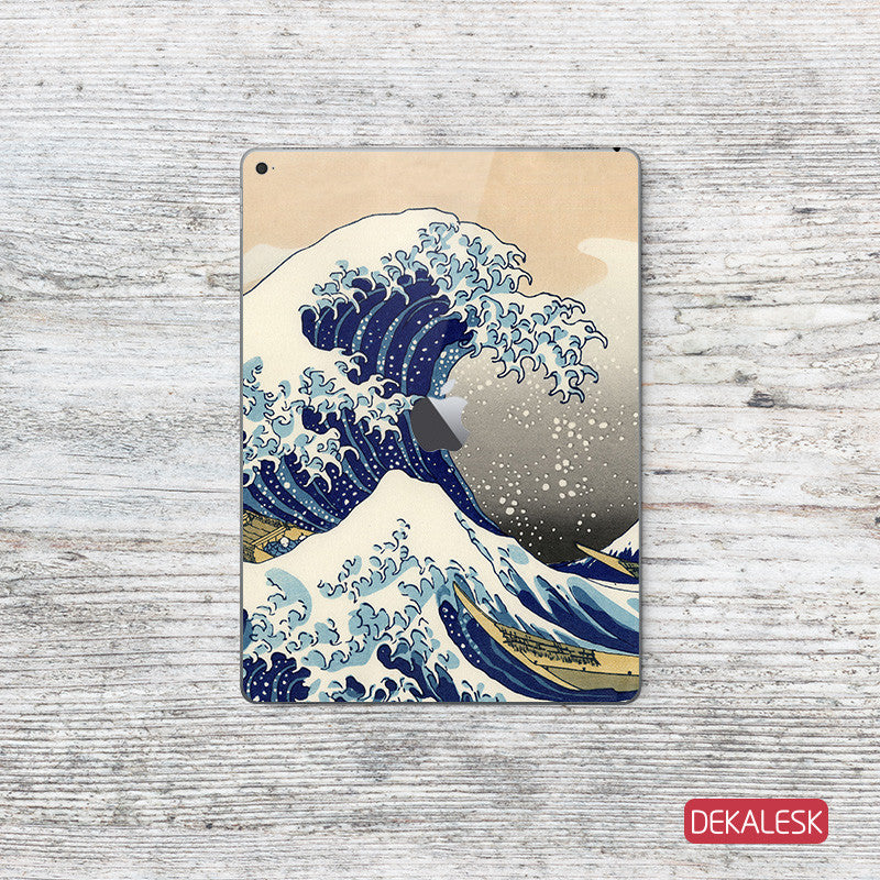 Great Wave off Kanagawa - iPad Pro Skin - DEKALESK