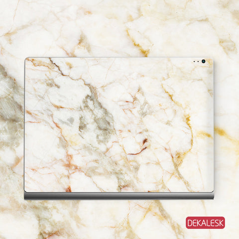 Orange Marble - Surface Book Skin - DEKALESK