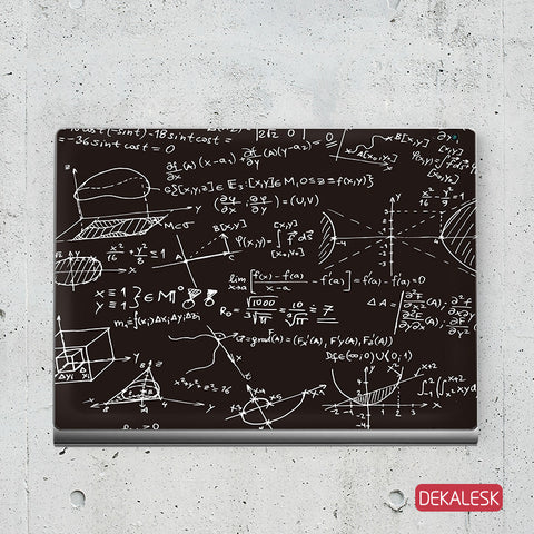 Crazy Mathematics - Surface Book Skin - DEKALESK