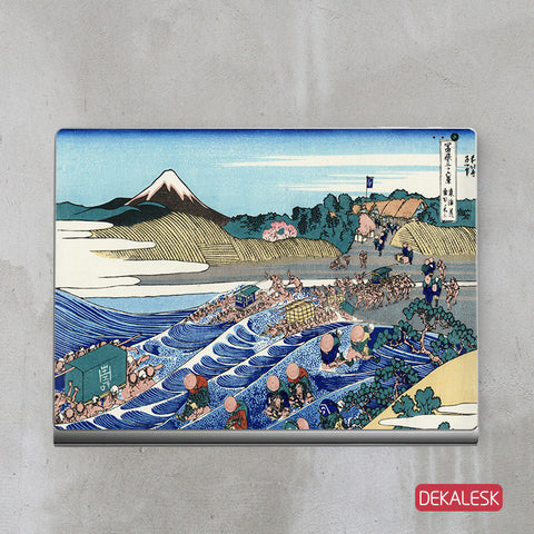 Tokaido Valley - Surface Book Skin - DEKALESK