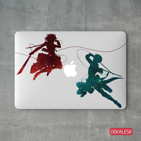 Attack on Titan - MacBook Decal - DEKALESK