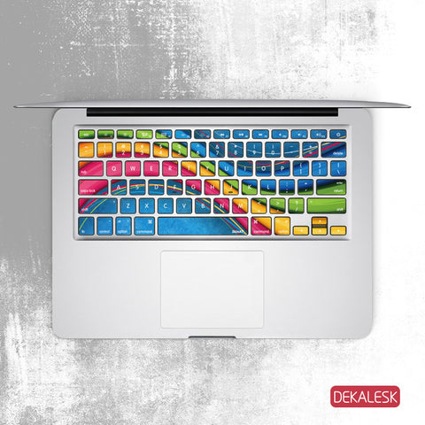 Color Blend - MacBook Keyboard Stickers - DEKALESK