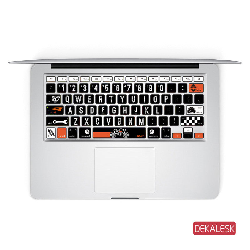 Harley Characters - MacBook Keyboard Stickers - DEKALESK