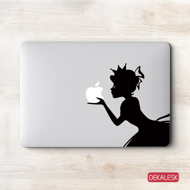 Apple Princess - MacBook Decal - DEKALESK