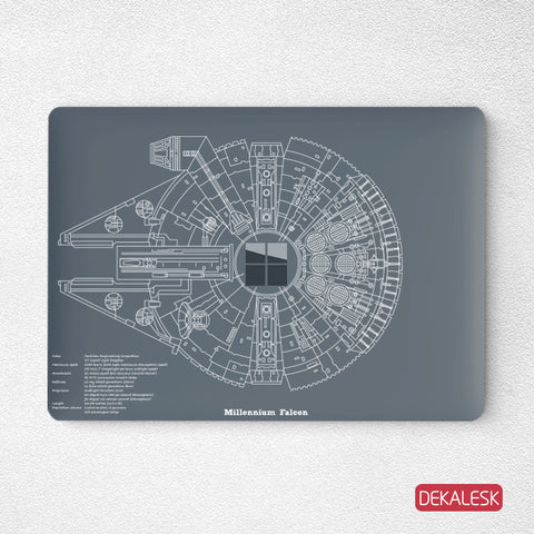Millennium- Surface Laptop Top Lid Skin - DEKALESK