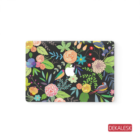 Classic Floral - MacBook Decal Stickers Skin - DEKALESK