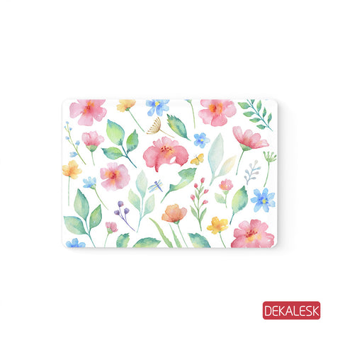 Garden- MacBook Decal Stickers Skin - DEKALESK
