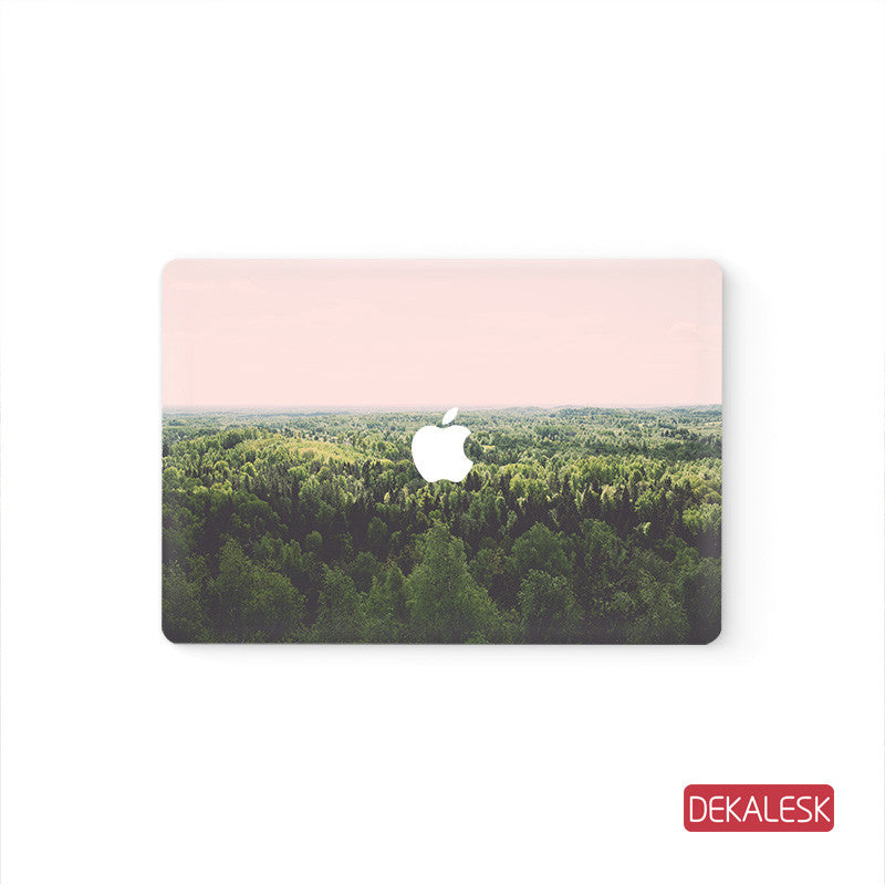 Forest  - MacBook Pro Stickers Mac Top decal  Front Cover Skin - DEKALESK