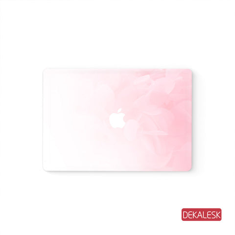 Pink - MacBook Pro Keyboard Stickers Top Skin Full Bottom Decal Protector - DEKALESK