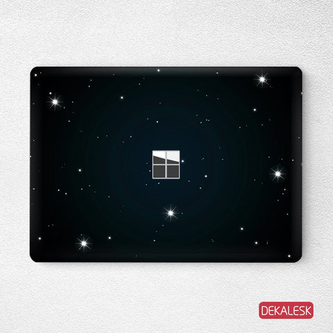 All of the Stars- Surface Laptop Top Lid Skin - DEKALESK