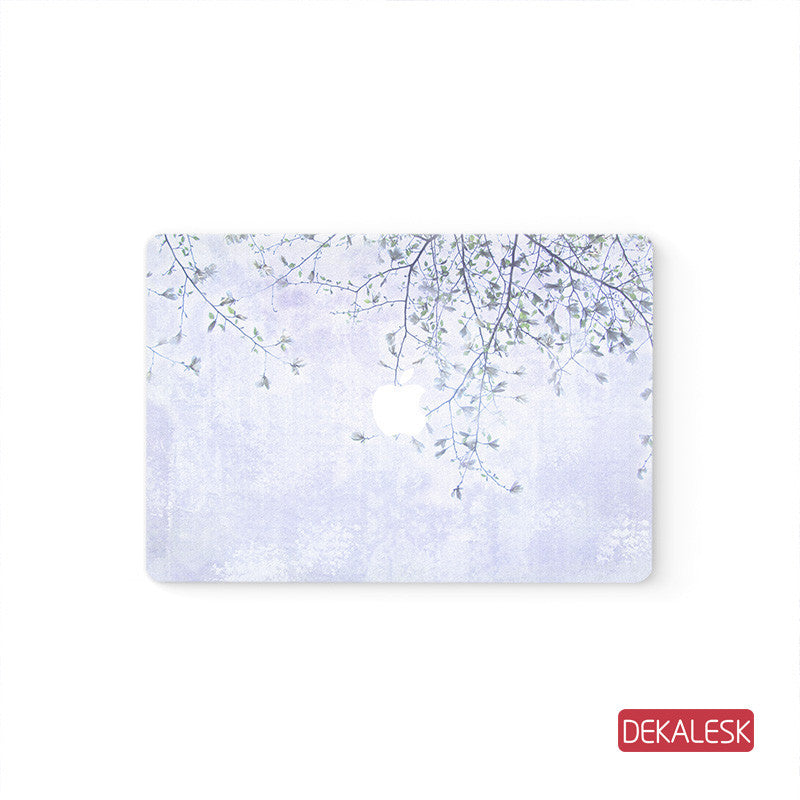 Purple  - MacBook Pro Stickers Mac Top decal  Front Cover Skin - DEKALESK