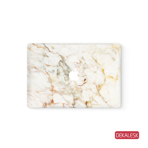 Orange Marble - MacBook Skin - DEKALESK