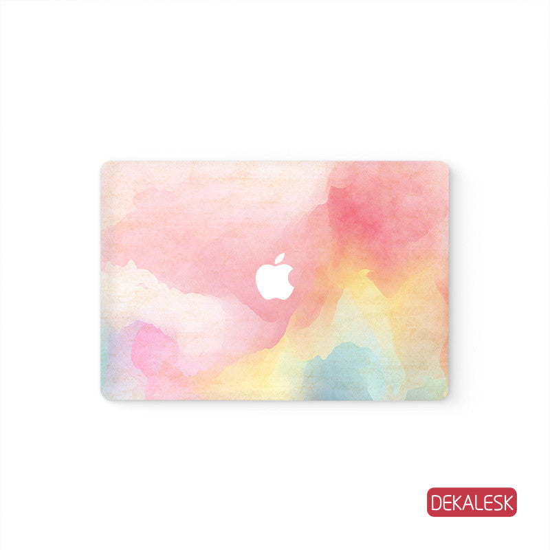 Pink Watercolor - MacBook Skin - DEKALESK